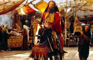"""محسن تنابنده در نقش تاجری یهودی به نام """"ساموئل"""" در نمایی از """"محمد(ص)"""""""