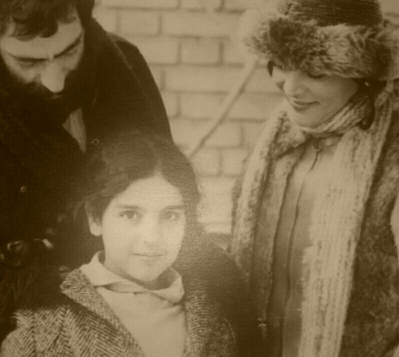 مسعود کیمیایی در کنار گیتی پاشایی و گیلدا