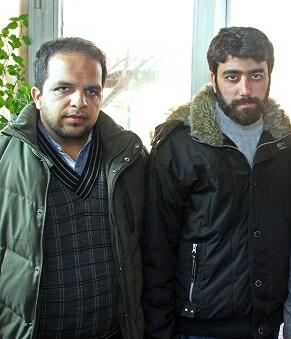 یوسف منصوری(سمت راست)