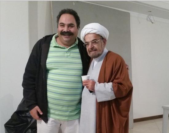 """حمید لولایی و علی کاظمی در نمایی از """"سه بیگانه از سرزمین ناشناخته"""""""