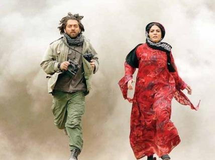 """بهرام رادان و شیلان رحمانی در نمایی از """"حکایت عاشقی"""""""
