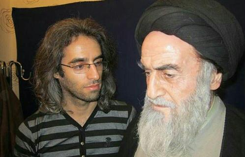 ولی ا.. مومنی با تست گریم امام خمینی