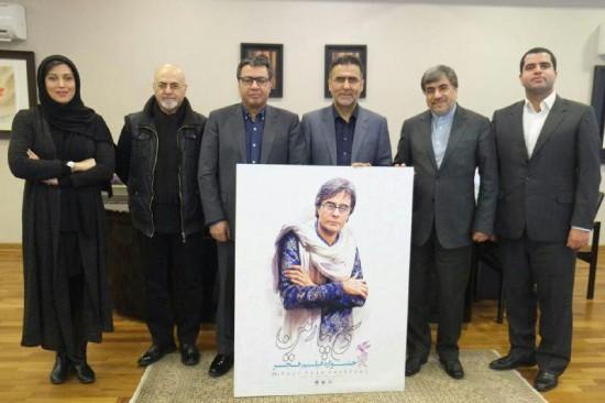 رونمایی از پوستر اصلاح شده در حضور وزیر ارشاد