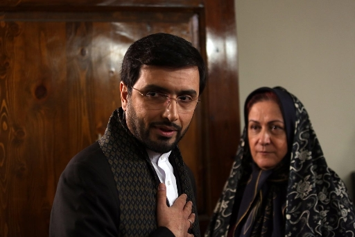 """امین زندگانی و مریم امیرجلالی در نمایی از """"خانم سادات"""""""