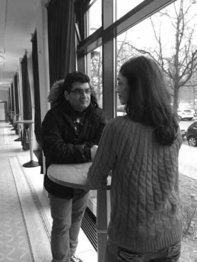تصویر منسوب به دیدار علی عطشانی با گلشیفته فراهانی
