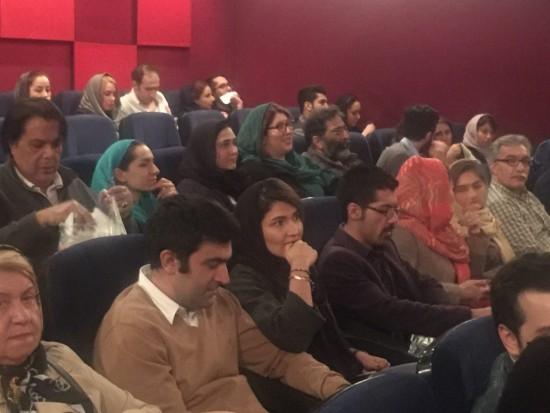 باران کوثری در سینما آزادی