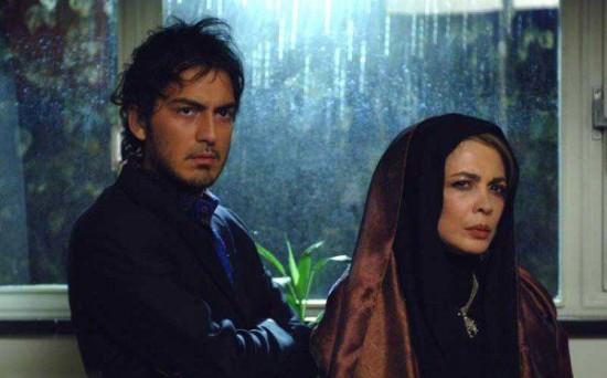 """بیتا فرهی و نیما شاهرخ شاهی در نمایی از """"پارک وی"""""""