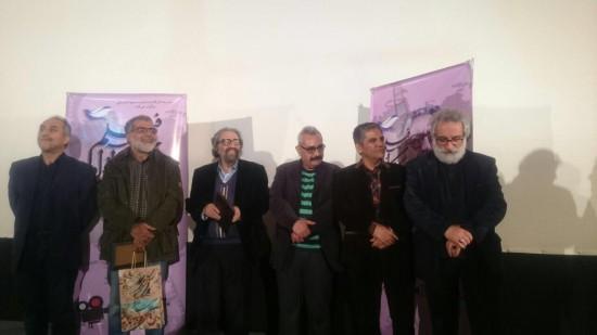 مسعود کیمیایی در اختتامیه جشنواره کارگاه آزاد فیلم