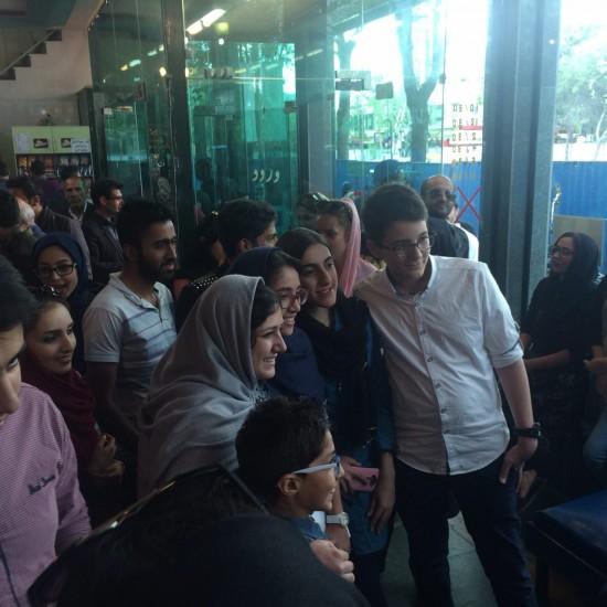 دیدار باران کوثری با مخاطبان اصفهانی
