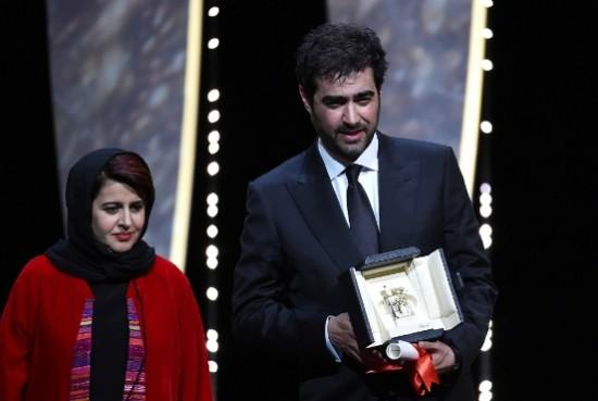 شهاب حسینی برنده جایزه بهترین بازیگری