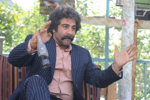 """محسن تنابنده در نقش """"فتح ا.. خان"""" در """"ایران برگر"""""""