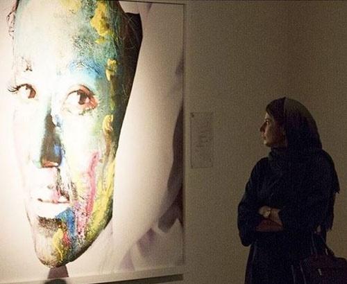 لیلا حاتمی نمایشگاه زن-زمین