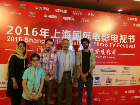 """عوامل """"سویوق"""" در جشنواره شانگهای"""