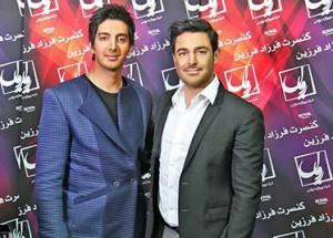 محمدرضا گلزار و فرزاد فرزین
