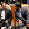 محمود احمدی نژاد و عزت ا.. ضرغامی