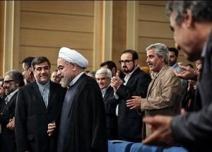 حسن روحانی علی جنتی احمدرضا درویش مختاباد