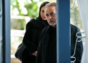 """پرویز پرستویی و تینا پاکروان در """"خانه کاغذی"""""""