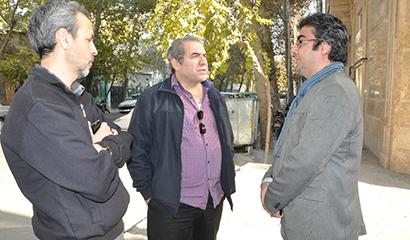 """محمدمهدی طباطبایی نژاد در پشت صحنه """"کاکا"""""""