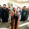 اقامت نماز مغرب اربعین به امامت هاشمی رفسنجانی
