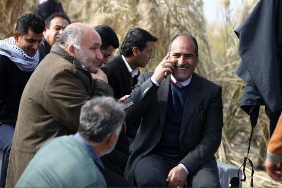 حبیب ایل بیگی در سفر خوزستان