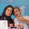 فاطمه معتمدآریا و همسرش احمد حامد