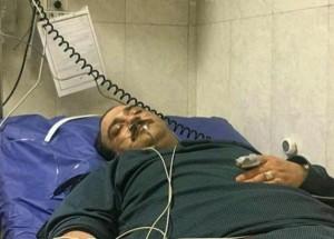 مهران-غفوریان-بیمارستان
