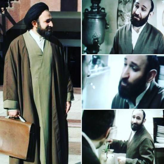 تصاویر راست گریم هدایت هاشمی در «نفس» است و تصویر چپ «لطفا مزاحم نشوید»
