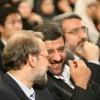 عزت ا.. ضرغامی و علی لاریجانی