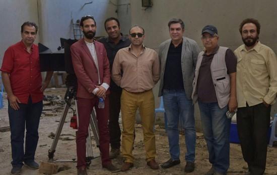 دیدار روسای گلرنگ رسانه از پشت صحنه «هزارپا»