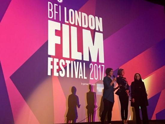 هدی زین العابدین و مستانه مهاجر در جشنواره لندن