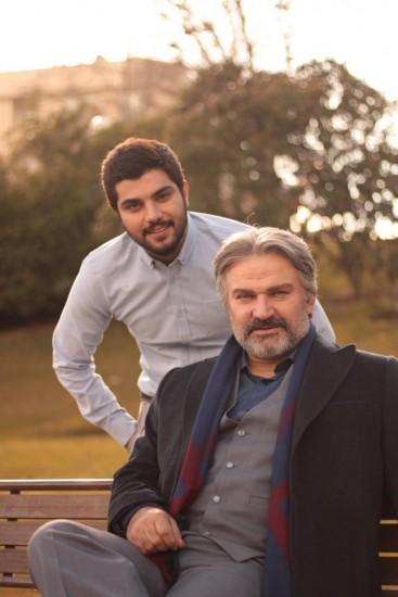 سینا سهیلی و مهدی سلطانی در «پدر»