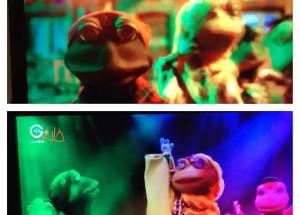 تبلیغات «خاله قورباغه» در «جم جونیور»