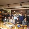 کافه نشینی محمدصادق رنجکشان و گروهی از تهیه کنندگان