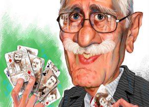 ایرج پزشکزاد( طرحی از بزرگمهر حسینپور)