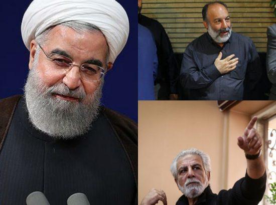 حسن روحانی+مهدی عظیمی میرآبادی+منوچهر شاهسواری