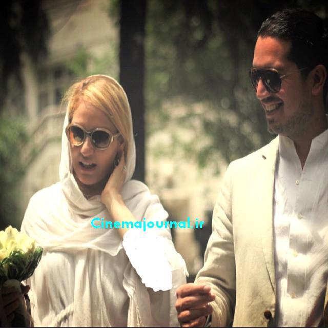 مهناز افشار در کنار یاسین رامین