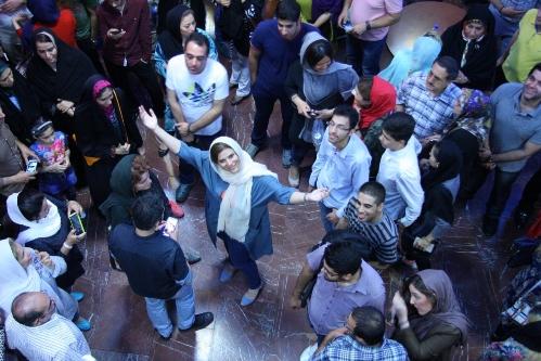 """سحر دولتشاهی در اکران """"عصر یخبندان"""""""