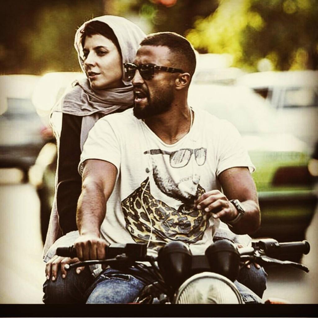 """لیلا حاتمی در نمایی از """"من"""""""