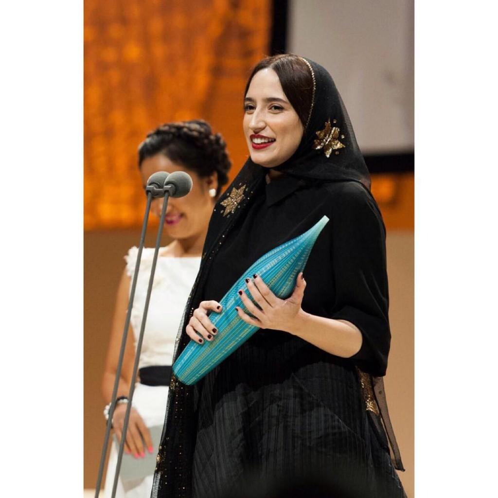 نگار جواهریان در اختتامیه جشنواره آسیاپاسیفیک 2013