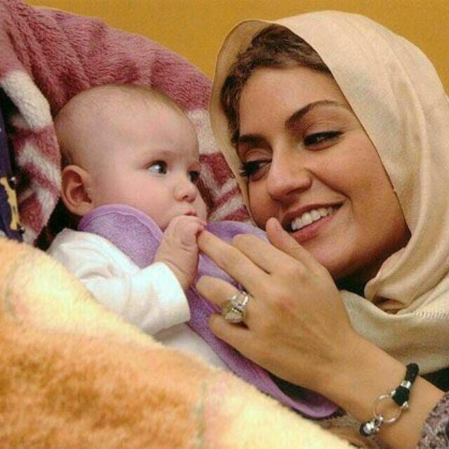 مهناز افشار در کنار لیا رامین