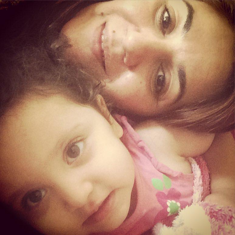 ستاره اسکندری و دخترش