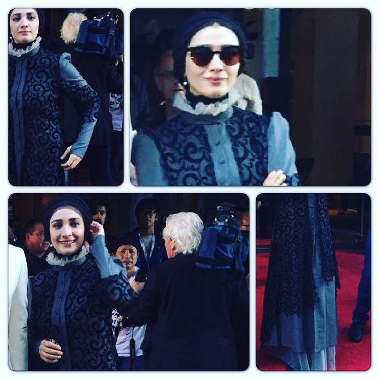 مینا ساداتی بازیگر نقش مادر پیامبر در جشنواره مونترال