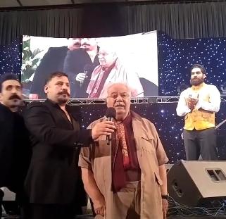 ناصر ملک مطیعی در کنسرت علی زند وکیلی