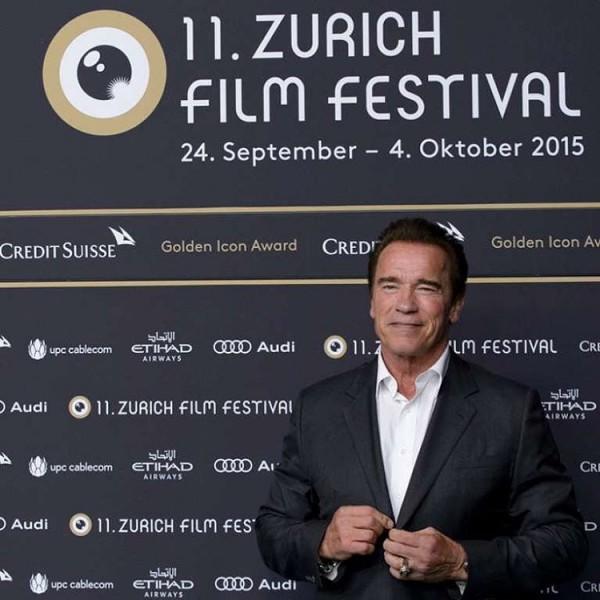 آرنولد در جشنواره زوریخ