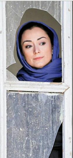 """مریم پالیزبان در نمایی از """"لانتوری"""""""