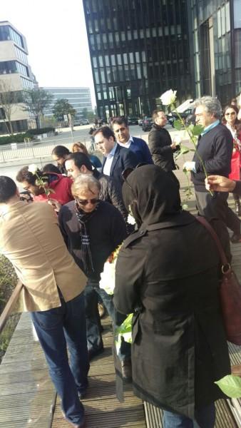 """یادبود هما روستا در کنار راین با حضور عوامل """"شهرزاد"""""""