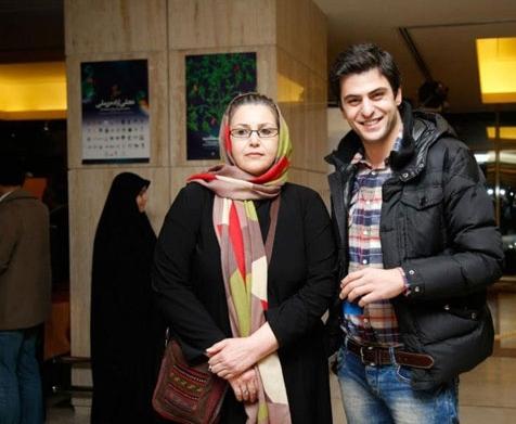 علی ضیاء و مادرش