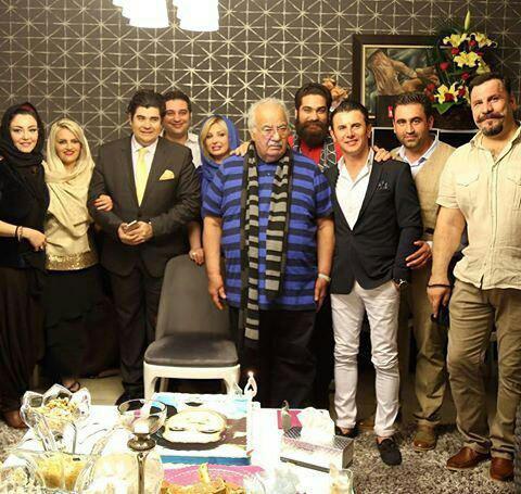 جشن تولد 85 سالگی ناصر ملک مطیعی