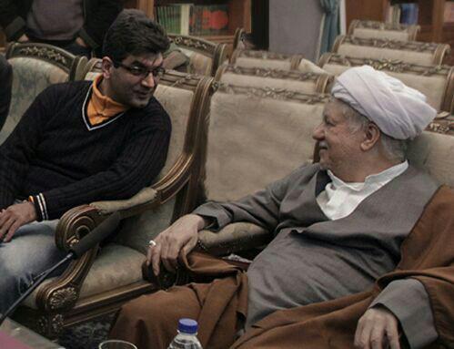 آیت ا.. رفسنجانی در کنار علی عطشانی/عکس فتوشاپ شده