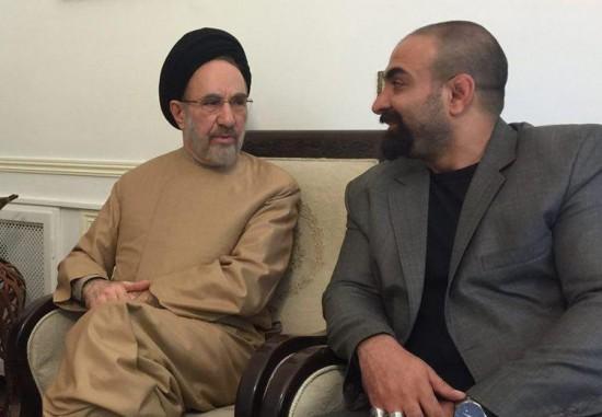 """دیدار تهیه کننده """"گاهی"""" با رییس دولت اصلاحات"""